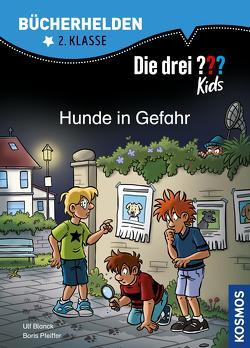 Die drei ??? Kids, Bücherhelden 2. Klasse, Hunde in Gefahr (drei Fragezeichen Kids) von Blanck,  Ulf, Gumpert,  Steffen, Pfeiffer,  Boris