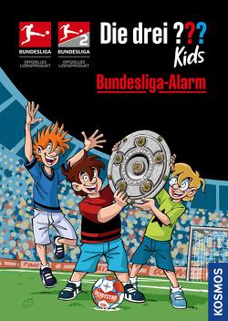 Die drei ??? Kids, Bundesliga-Alarm von Pfeiffer,  Boris, Saße,  Jan