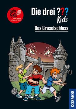 Die drei ??? Kids Dein Fall, Das Gruselschloss von Gumpert,  Steffen, Pfeiffer,  Boris