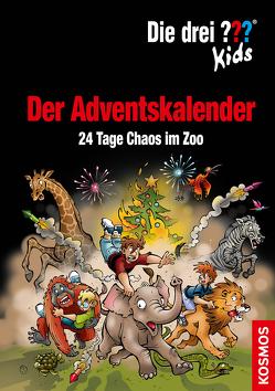 Die drei ??? Kids, Der Adventskalender von Blanck,  Ulf, Smialkowski,  Udo