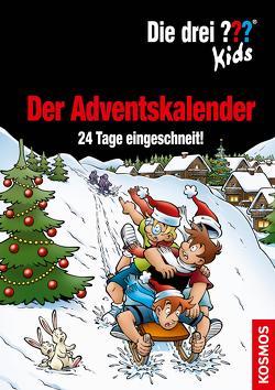 Die drei ??? Kids, Der Adventskalender (drei Fragezeichen Kids) von Blanck,  Ulf, Smialkowski,  Udo