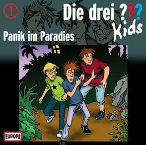 Die Drei ??? Kids (Folge 1) – Panik im Paradies von Blanck,  Ulf