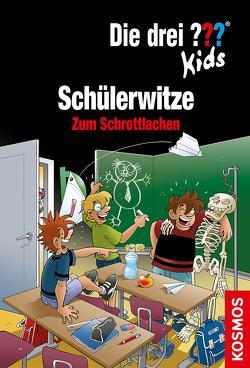 Die drei ??? Kids, Schülerwitze (drei Fragezeichen Kids) von Saße,  Jan, Schmidt,  Kim, unbekannt,  noch