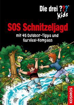 Die drei ??? Kids, SOS Schnitzeljagd (drei Fragezeichen Kids) von Blanck,  Ulf, Saße,  Jan, Schulte,  Astrid