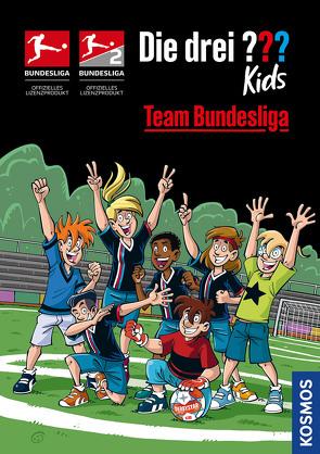 Die drei ??? Kids, Team Bundesliga von Comicon,  S.L.,  Comicon,  S.L., Pfeiffer,  Boris, Saße,  Jan