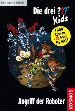 Die drei ??? Kids und du, 8, Angriff der Roboter (drei Fragezeichen Kids) von Pfeiffer,  Boris, Saße,  Jan