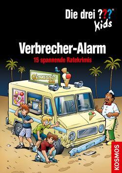 Die drei ??? Kids, Verbrecher-Alarm. (drei Fragezeichen Kids) von Blanck,  Ulf, Pfeiffer,  Boris, Smialkowski,  Udo