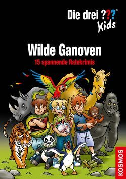 Die drei ??? Kids, Wilde Ganoven. von Blanck,  Ulf, Pfeiffer,  Boris, Saße,  Jan
