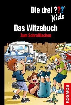 Die drei ??? Kids Das Witzebuch von Brinkmann,  Markus, Saße,  Jan, Schmidt,  Kim
