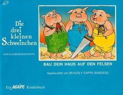 Die drei kleinen Schweinchen von Capps,  Beverly Burgess, Stockhammer,  Sigrid