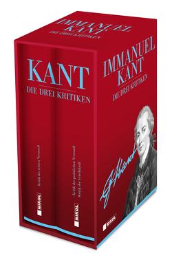 Die drei Kritiken: Kritik der reinen Vernunft, Kritik der praktischen Vernunft, Kritik der Urteilskraft von Kant,  Immanuel