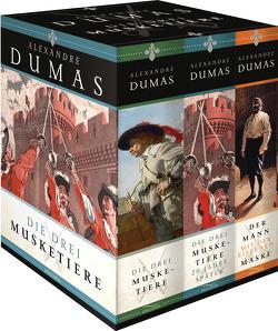 Die drei Musketiere (Die drei Musketiere, 20 Jahre später, Der Mann mit der eisernen Maske – 10 Jahre später) von Dumas,  Alexandre