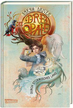 Die drei Opale 3: Durch stürmisches Land von Driver,  Sarah, Ströle,  Wolfram