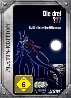 Die drei ??? Platinedition Gefährliche Ermittlungen von United Soft Media Verlag GmbH