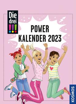 Die drei !!! Powerkalender von Biber,  Ina, Kluge,  Heike, Scheller,  Anne