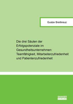 Die drei Säulen der Erfolgspotenziale im Gesundheitsunternehmen: Teamfähigkeit, Mitarbeiterzufriedenheit und Patientenzufriedenheit von Breitkreuz,  Gustav