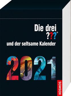 Die drei ??? und der seltsame Kalender 2021 von Christoph,  Silvia, Köhrsen,  Andrea, Rasch,  Aiga