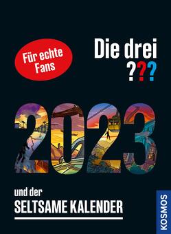 Die drei ??? und der seltsame Kalender 2023 von Ruch,  Andreas
