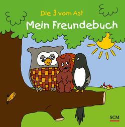 Die Drei vom Ast – Mein Freundebuch von Lücking,  Jutta
