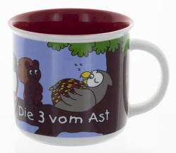 Die Drei vom Ast – Tasse