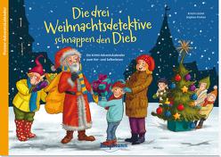 Die drei Weihnachtsdetektive schnappen den Dieb von Lückel,  Kristin, Pricken,  Stephan