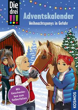 Die drei !!!, Weihnachtsponys in Gefahr von Biber,  Ina, Heger,  Ann-Katrin