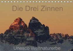 Die Drei Zinnen – Unesco Weltnaturerbe (Tischkalender 2018 DIN A5 quer) von G.,  Piet