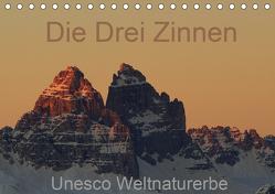 Die Drei Zinnen – Unesco Weltnaturerbe (Tischkalender 2020 DIN A5 quer) von G.,  Piet