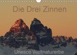 Die Drei Zinnen – Unesco Weltnaturerbe (Wandkalender 2019 DIN A4 quer) von G.,  Piet