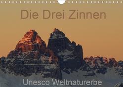 Die Drei Zinnen – Unesco Weltnaturerbe (Wandkalender 2020 DIN A4 quer) von G.,  Piet