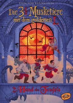 Die dreieinhalb Musketiere mit dem goldenen L. In der Hand des Teufels (Bd. 2) von Köhler,  Tim, von Katzenstein,  Leuw