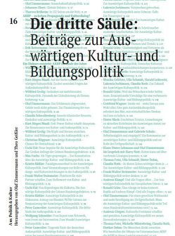 Die dritte Säule: Beiträge zur Auswärtigen Kultur- und Bildungspolitik von Brüheim,  Theresa, Zimmermann,  Olaf
