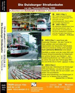 Die Duisburger Straßenbahn (vor der Tunneleröffnung) von Herr,  Andreas, Koch,  Andreas