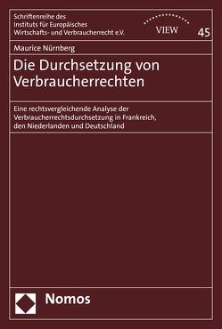 Die Durchsetzung von Verbraucherrechten von Nürnberg,  Maurice
