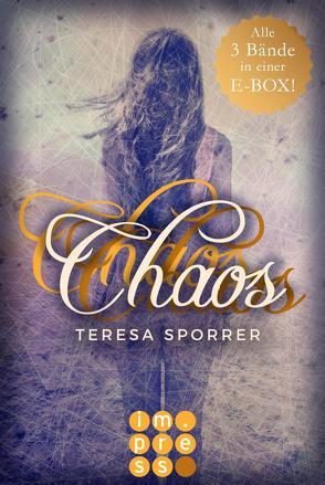 Die E-Box zur Chaos-Reihe mit allen Bänden der Fantasy-Trilogie! (Die Chaos-Reihe ) von Sporrer,  Teresa