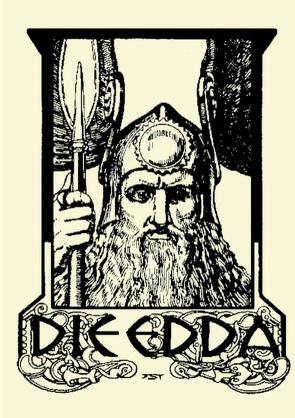 Die Edda. Illustrierte Ausgabe. von der Weise,  Sämund, Simrock,  Karl, Sturluson,  Snorri