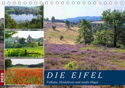 Die Eifel – Vulkane, Heidekraut und sanfte Hügel (Tischkalender 2020 DIN A5 quer) von Frost,  Anja