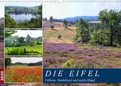 Die Eifel – Vulkane, Heidekraut und sanfte Hügel (Wandkalender 2020 DIN A3 quer) von Frost,  Anja