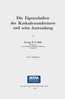Die Eigenschaften des Kaskadenumformers und seine Anwendung von Hallo,  Herman S.