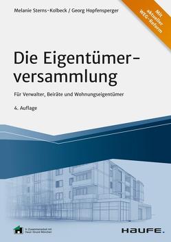 Die Eigentümerversammlung von Hopfensperger,  Georg, Sterns-Kolbeck,  Melanie
