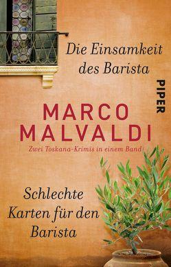 Die Einsamkeit des Barista / Schlechte Karten für den Barista von Malvaldi,  Marco, Ruby,  Luis, Zühlke,  Sigrun