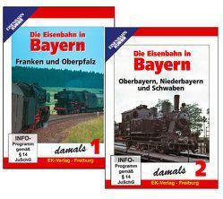 Die Eisenbahn in Bayern damals – Teil 1 und 2 im Paket