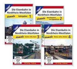 Die Eisenbahn in Nordrhein-Wesstfalen damals – Teil 1 bis Teil 4 im Paket