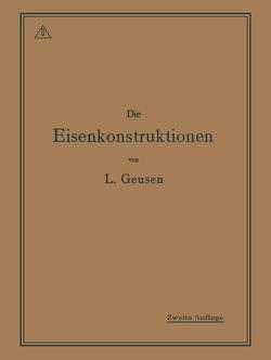Die Eisenkonstruktionen von Geusen,  Leonhard