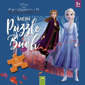 Die Eiskönigin 2 – Mein Puzzlebuch von Teller,  Laura