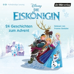Die Eiskönigin – 24 Geschichten zum Advent von Greitzke,  Yvonne