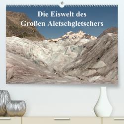 Die Eiswelt des Großen Aletschgletschers (Premium, hochwertiger DIN A2 Wandkalender 2020, Kunstdruck in Hochglanz) von Michel,  Ingrid