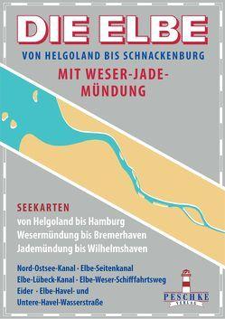 DIE ELBE mit Weser- und Jademündung