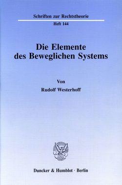 Die Elemente des Beweglichen Systems. von Westerhoff,  Rudolf
