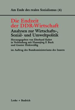 Die Endzeit der DDR-Wirtschaft — Analysen zur Wirtschafts-, Sozial- und Umweltpolitik von Buck,  Hannsjörg F., Holzweissig,  Gunter, Kuhrt,  Eberhard